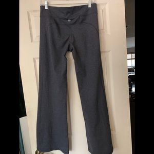 Athleta Wide leg work out pants